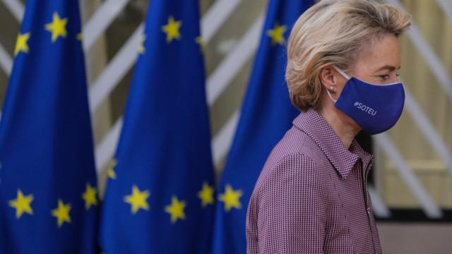 """Ursula von der Leyen cere guvernelor să ia """"măsuri îndrăznețe"""" anti COVID. Vaccinul va sosi de-abia în aprilie"""