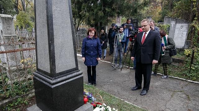 La Cimitirul Catolic a fost inaugurată o placă comemorativă dedicată polonezilor