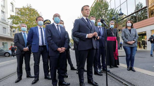 Emmanuel Macron, după atacul de la Nisa: Nu vom ceda nimic