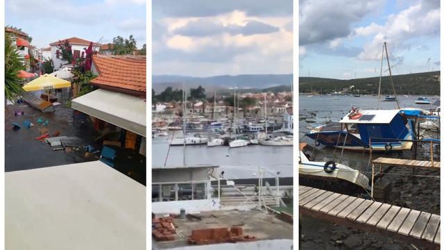 Un mini-tsunami a lovit Insula Samos după cutremurul puternic resimțit în Grecia și Turcia