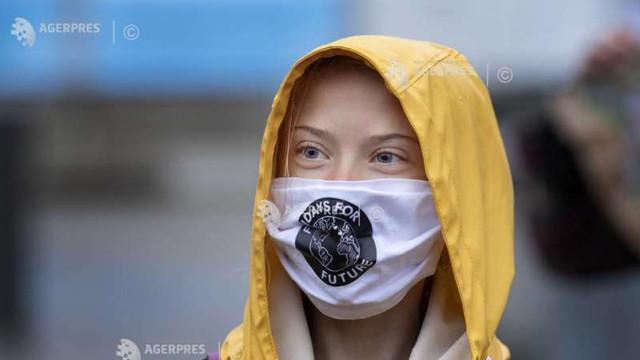 Greta Thunberg mobilizează în stradă apărătorii mediului, cu 48 de ore înaintea alegerilor legislative germane