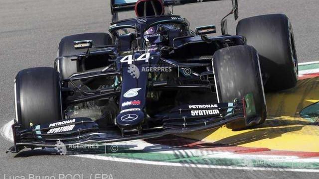 Auto - F1: Hamilton, cel mai rapid în antrenamentele libere ale Marelui Premiu de la Imola