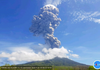 Indonezia - Vulcanul Lewotolo a intrat în erupție; aeroportul local, închis