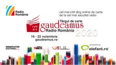 Târgul Gaudeamus Radio România continuă, în format online