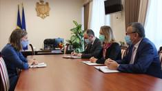 Vicepremierul Olga Cebotari a avut o întrevedere cu Ambasadoarea Regatului Suediei, Anna Lyberg
