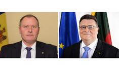 Ministrul de Externe Aureliu Ciocoi și omologul lituanian Linas Linkevičius au discutat telefonic agenda bilaterală de cooperare