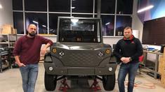 FOTO | Premieră unică în R.Moldova: Hi-Duk, primul offroader 100% electric, creat de o echipă de moldoveni!
