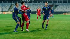 Naționala de fotbal a Moldovei coboară două poziții în clasamentul FIFA