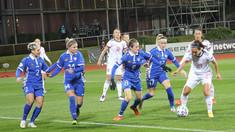 Naționala feminină de fotbal a Moldovei a fost spulberată de echipa Spaniei, cu 0-10