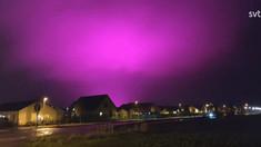 Cerul a devenit brusc violet. Cum se explică straniul fenomen observat într-un oraș din Suedia
