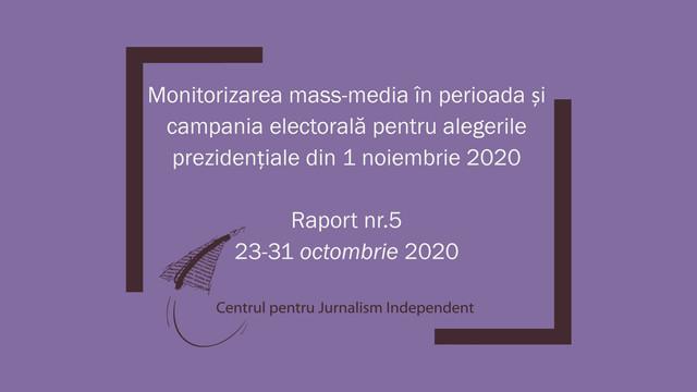Raport CJI | Patru posturi de televiziune au continuat să facă partizanat în favoarea unor candidați