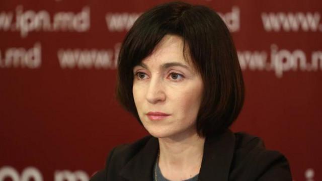 Maia Sandu: Lipsa susținerii Parlamentului va fi un motiv în plus pentru alegeri anticipate