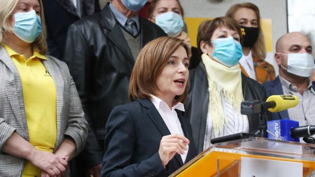 Maia Sandu: Situația actuală din Moldova convine unui grup de hoți