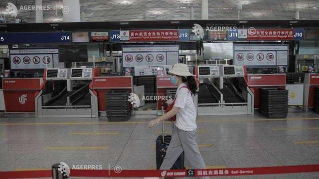 Coronavirus: China blochează sosirea persoanelor care vin din Belgia și Marea Britanie