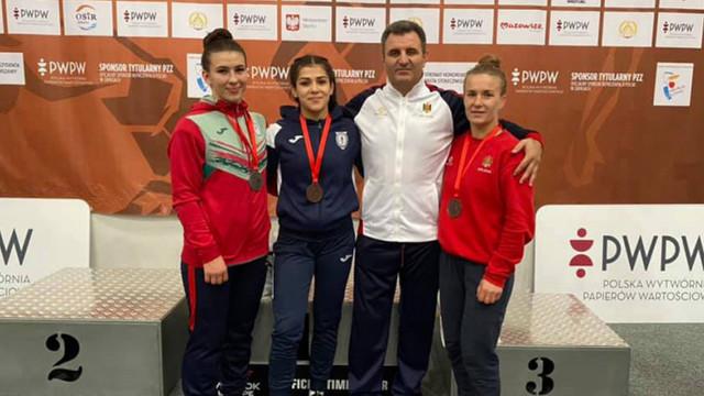 Reprezentantele R. Moldova au cucerit 3 medalii la Poland Open