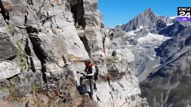Cel mai faimos vârf muntos din Elveția începe să se descompună