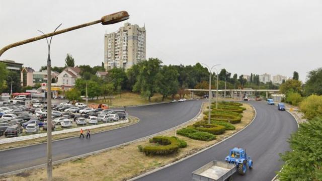 Strada Albișoara din Chișinău va fi deschisă circulației rutiere la sfârșitul lunii noiembrie