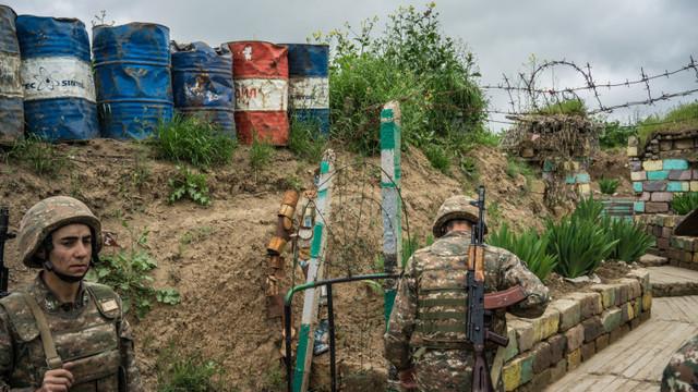 Acord de încetare a ostilităților în Nagorno-Karabah, semnat de Armenia și Azerbaidjan sub egida Rusiei