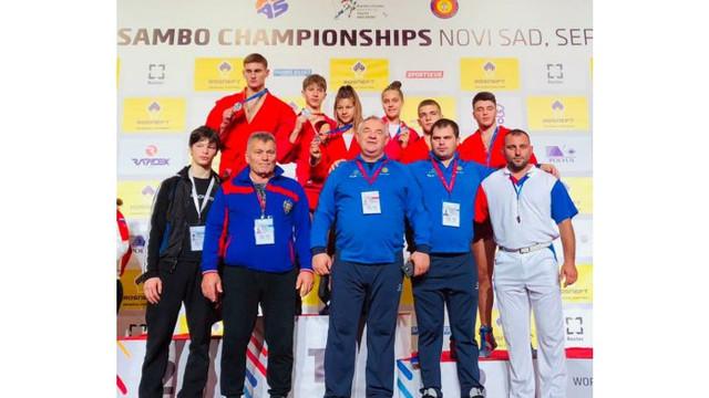 Luptătorii moldoveni de sambo au obținut 12 medalii la Campionatul Mondial 2020