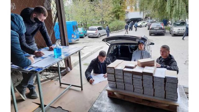 CEC a început distribuirea buletinelor de vot pentru secțiile de votare din R.Moldova