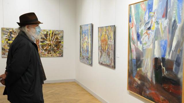 La Muzeul Național de Artă al Moldovei a fost vernisată o expoziție aniversară a pictorului Sergiu Cuciuc