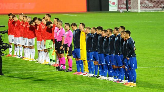 Naționala Moldovei a remizat contra Rusiei