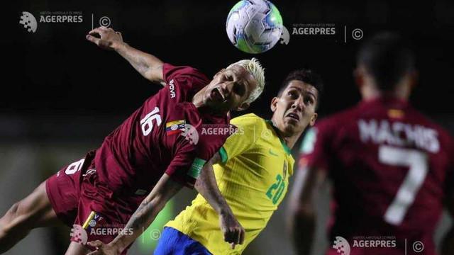 Fotbal: Victorii pentru Brazilia, Uruguay și Chile, în preliminariile CM 2022