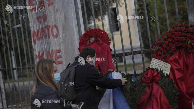 Grecia sub 'lockdown' marchează discret aniversarea revoltei din 1973, în timp ce marșurile sunt interzise
