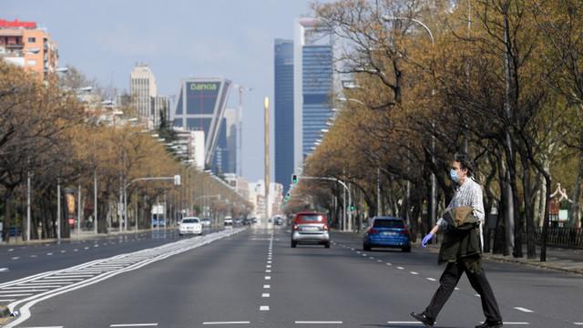 Autoritățile din Madrid anunță un lockdown de zece zile. Orașul își va închide granițele