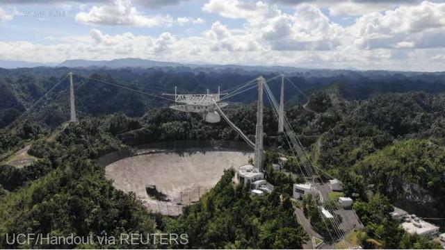 Faimosul telescop spațial Arecibo din Puerto Rico va fi dezafectat