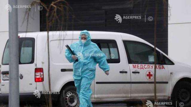 Coronavirus: Noi recorduri de infectări și decese în Rusia