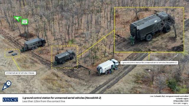 OSCE: Sistem avansat de război electronic, de proveniență rusească, observat în estul Ucrainei