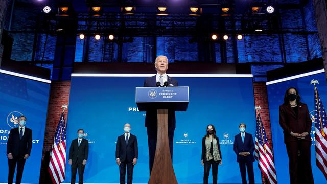 Joe Biden și-a prezentat echipa diplomatică și de securitate națională