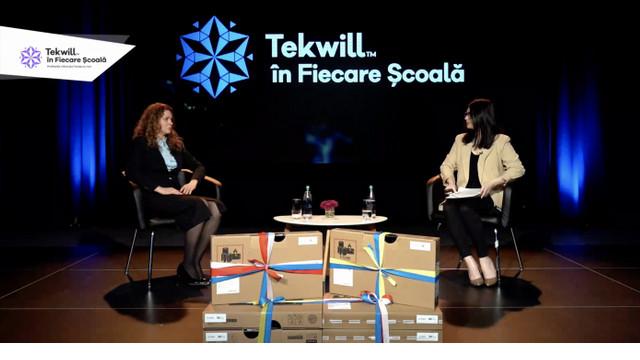 Până în 2024, majoritatea liceelor din țară vor participa la un proiect Tekwill