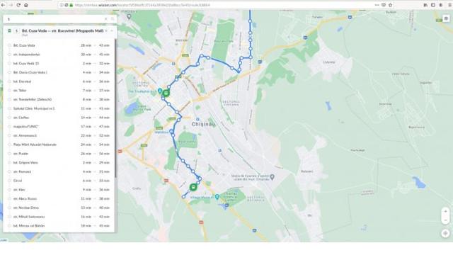 A fost relansat sistemul GPS pentru autobuzele care circulă în Capitală