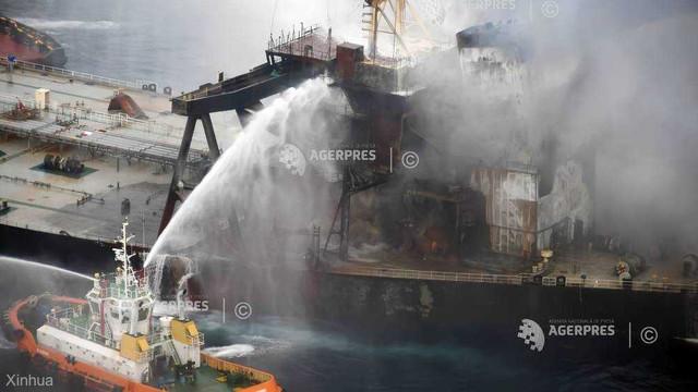 Explozie pe un petrolier grec sub pavilion maltez, ancorat într-un port saudit