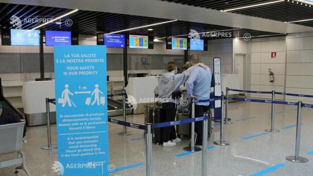 Italia anunță primele zboruri ''fără COVID'' între Europa și SUA