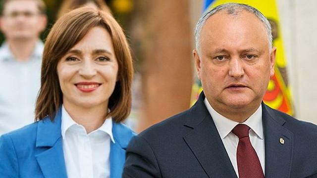 Igor Dodon afirmă că Partidul Socialiștilor este gata să susțină un guvern propus de președintele ales Maia Sandu