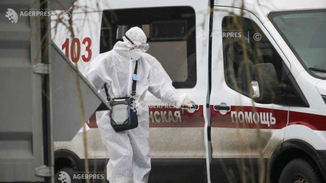 Rusia a raportat din nou un număr record de decese asociate COVID-19