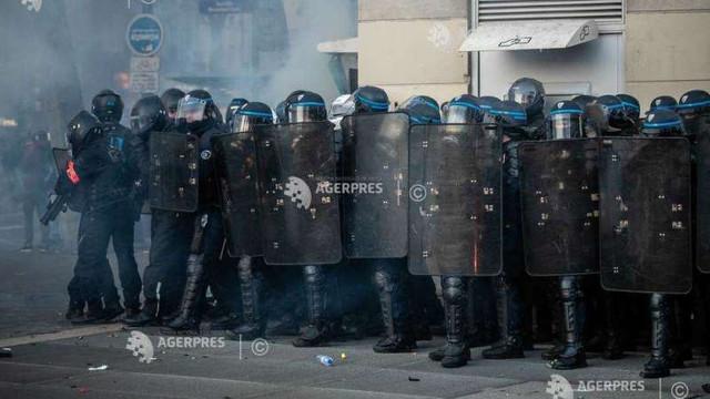 Franța: 81 de persoane arestate după protestele împotriva brutalității poliției și noii legi de securitate