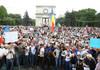 LIVE | Protest în fața Parlamentului față de unele inițiative legislative înaintate de Partidul Socialiștilor