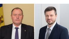 Ministrul Aureliu Ciocoi a discutat agenda de colaborare bilaterală cu omologul estonian Urmas Reinsalu