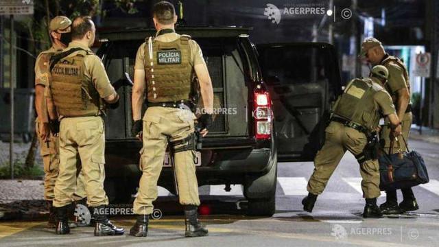 Brazilia: Un nou jaf bancar se încheie cu schimburi de focuri cu poliția pe străzi