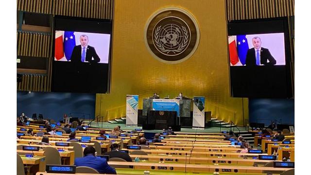 Premierul Ion Chicu a participat la Sesiunea specială a Adunării Generale ONU dedicată COVID-19