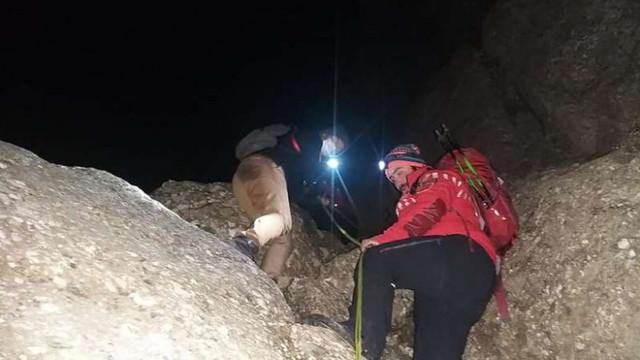 Patru tineri din R. Moldova, blocați în munții Bucegi, recuperați după o operațiune de 10 ore. Erau echipați necorespunzător