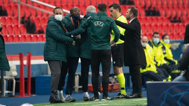 Scandal uriaș la meciul PSG-Istanbul BB: Arbitrul Sebastian Colțescu, acuzat de rasism. Erdogan și UEFA reacționează