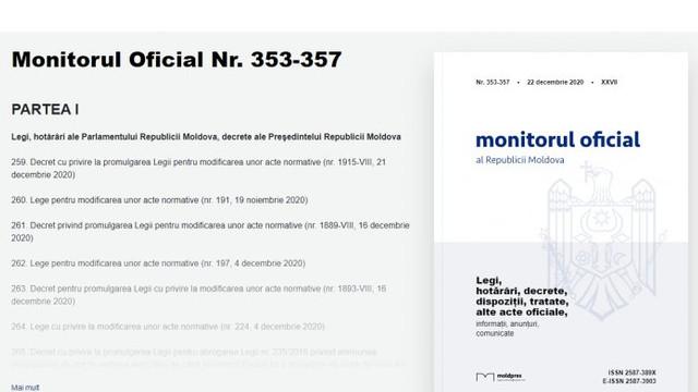 """Documentul ce abrogă """"legea miliardului"""" a fost publicat în Monitorul Oficial"""