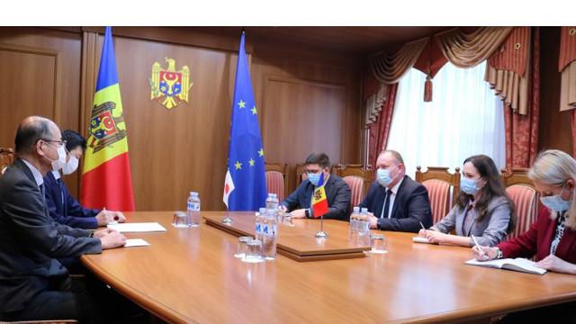 Japonia va oferi Republicii Moldova 800 mii de euro pentru furnizarea de echipament medical