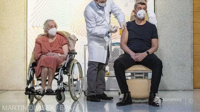 Coronavirus: Cehia a început campania de vaccinare