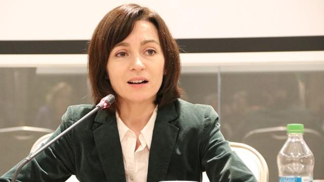 Maia Sandu: Am oameni care ar forma un guvern bun